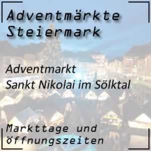 Adventmarkt Sankt Nikolai Sölktal