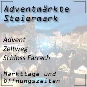 Farracher Advent Schloss Farrach Zeltweg