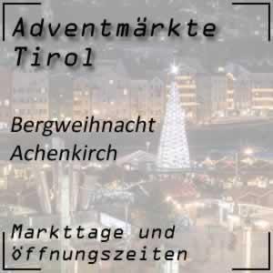 Bergweihnacht Achenkirch Sixenhof