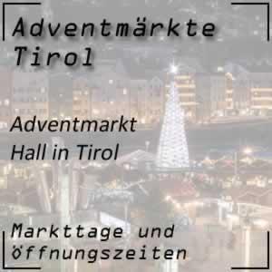 Adventmarkt Hall in Tirol