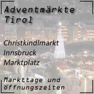 Christkindlmarkt Innsbruck Marktplatz
