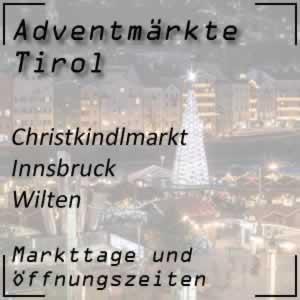 Christkindlmarkt Innsbruck Wilten