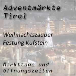 Weihnachtsmarkt Festung Kufstein