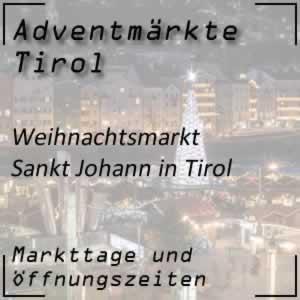 Weihnachtsmarkt Sankt Johann in Tirol