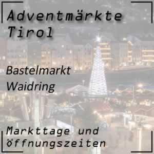 Adventmarkt Waidring