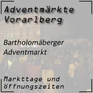 Adventmarkt Bartholomäberg