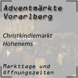 Christkindlemarkt Hohenems