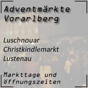 Christkindlmarkt Lustenau Luschnouar Chrischtkendlimarkt