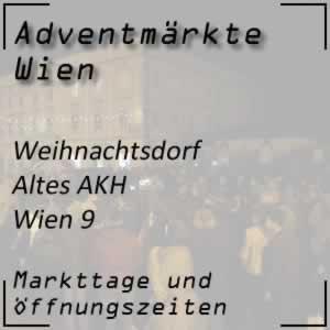 Weihnachtsdorf Altes AKH Wien
