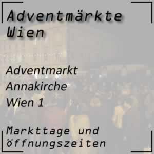 Adventmarkt Annakirche Wien