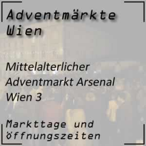 Mittelalterlicher Adventmarkt Arsenal