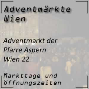 Adventmarkt Pfarre Aspern Wien