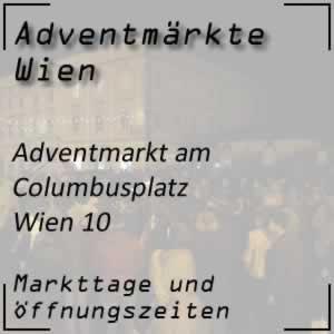 Adventmarkt Columbusplatz Wien