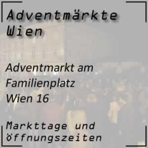Adventmarkt Familienplatz Neuottakring Wien