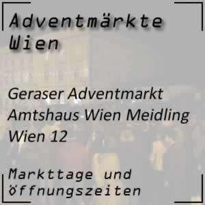 Geraser Adventmarkt Wien-Meidling