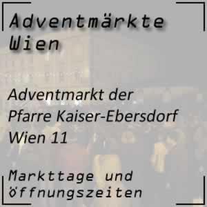 Adventmarkt Pfarre Kaiser-Ebersdorf Wien