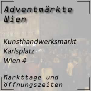 Kunsthandwerksmarkt Wien Karlskirche