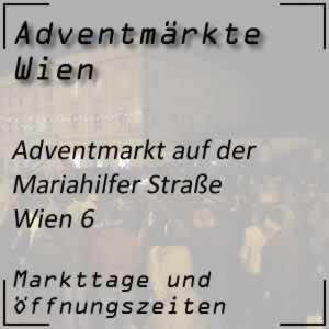 Adventmarkt Mariahilfer Straße Wien