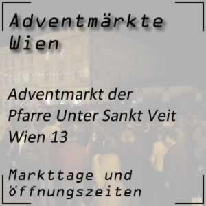 Adventmarkt Pfarre Unter Sankt Veit Wien
