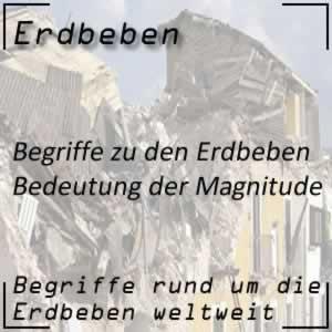 Erdbeben Magnitude