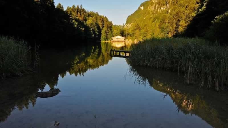Berglsteinersee im Tiroler Alpbachtal