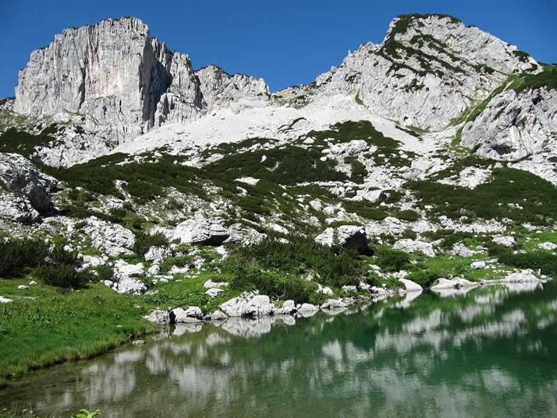 Dreibrüdersee im Toten Gebirge - Steiermark