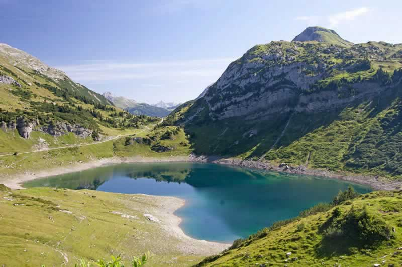 Formarinsee in den Lechtaler Alpen