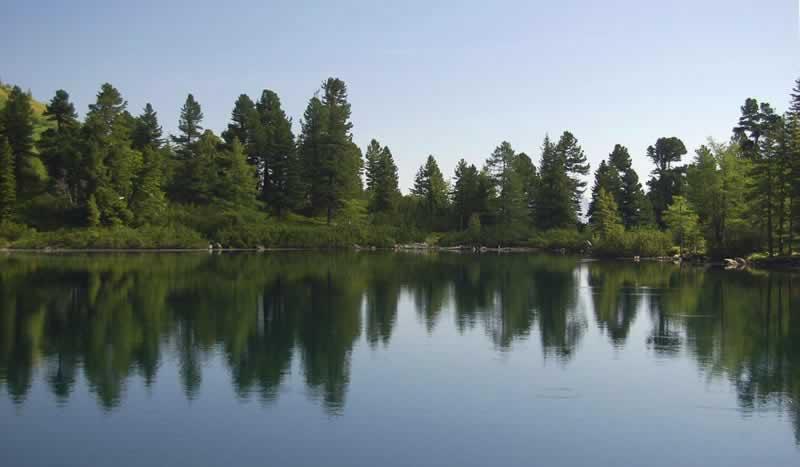 Großer Scheibelsee in den Rottmanner Tauern Steiermark