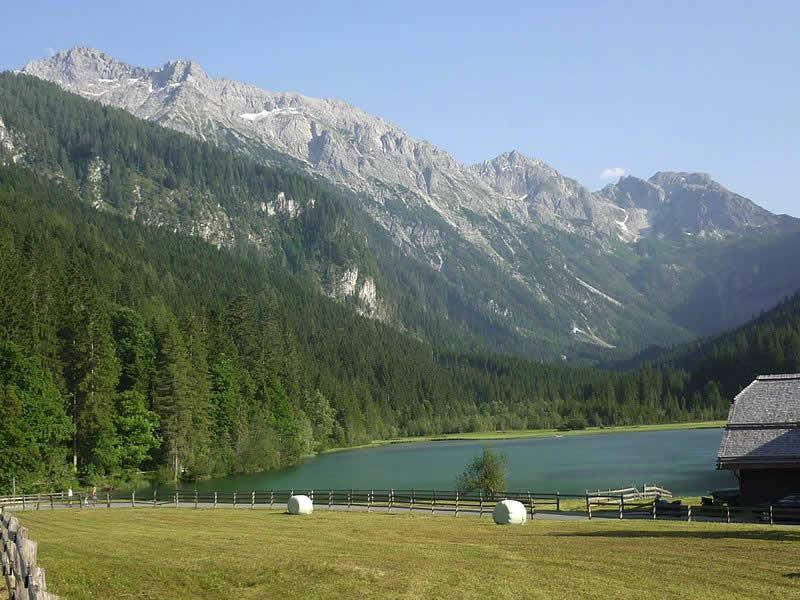 Jägersee bei Wagrain Salzburg