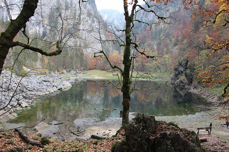 Kammersee südlich des Toten Gebirges