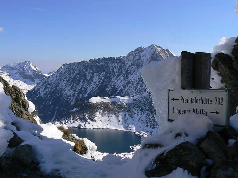 Bergseen im Klafferkessel Schladminger Tauern, Steiermark
