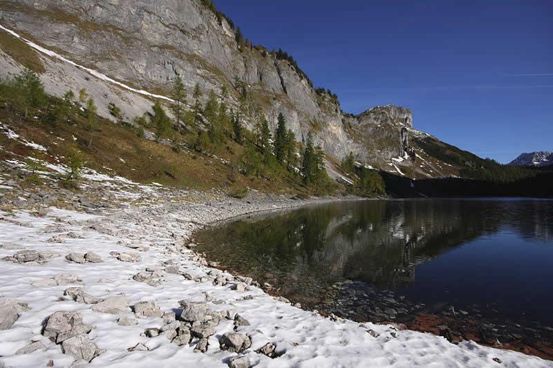 Vorderer Lahngangsee im Toten Gebirge Steiermark