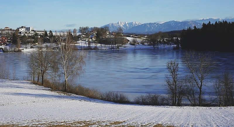 Maltschacher See in Kärnten beim Wörthersee