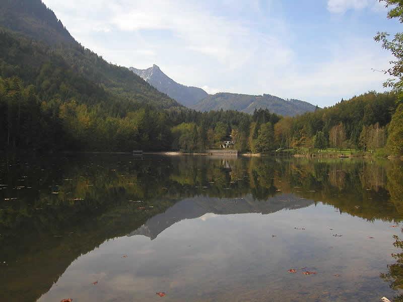Nussensee bei Bad Ischl im Salzkammergut