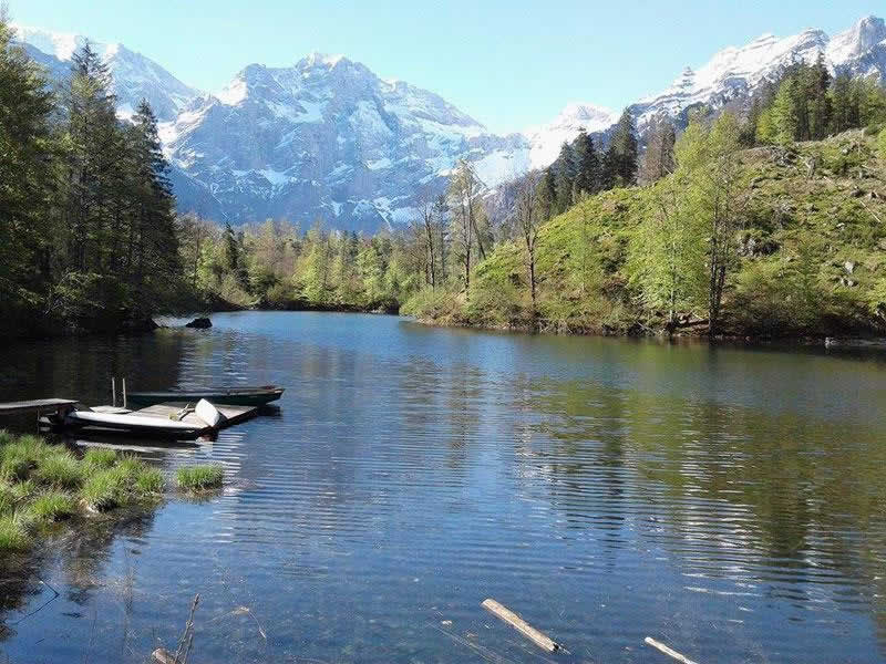 Ödsee beim Toten Gebirge in Oberösterreich