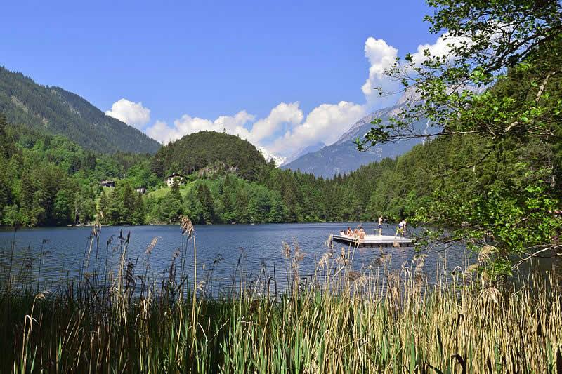 Piburger See bei Ötz im Ötztal Tirol