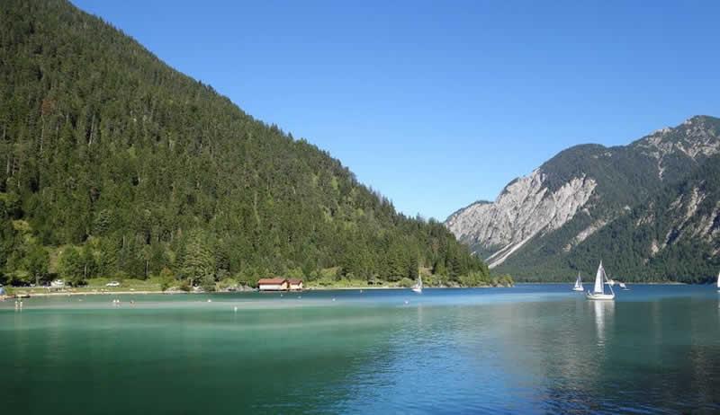 Plansee im Tiroler Außerfern