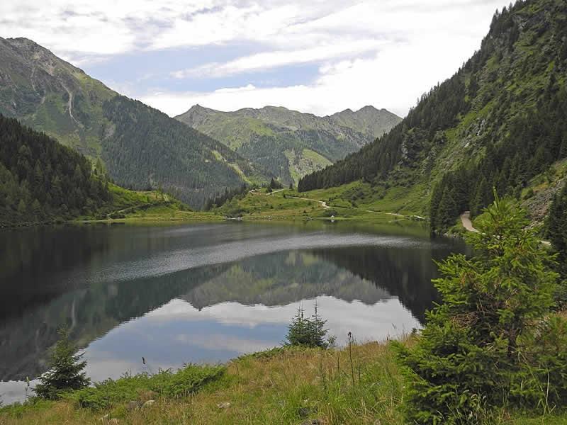 Riesachsee bei Schladming in der Steiermark