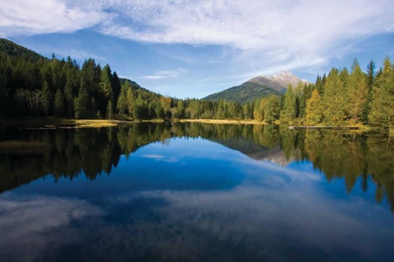 Schattensee beim Prebersee in der Steiermark