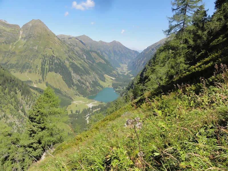 Schwarzensee in den Niederen Tauern Steiermark