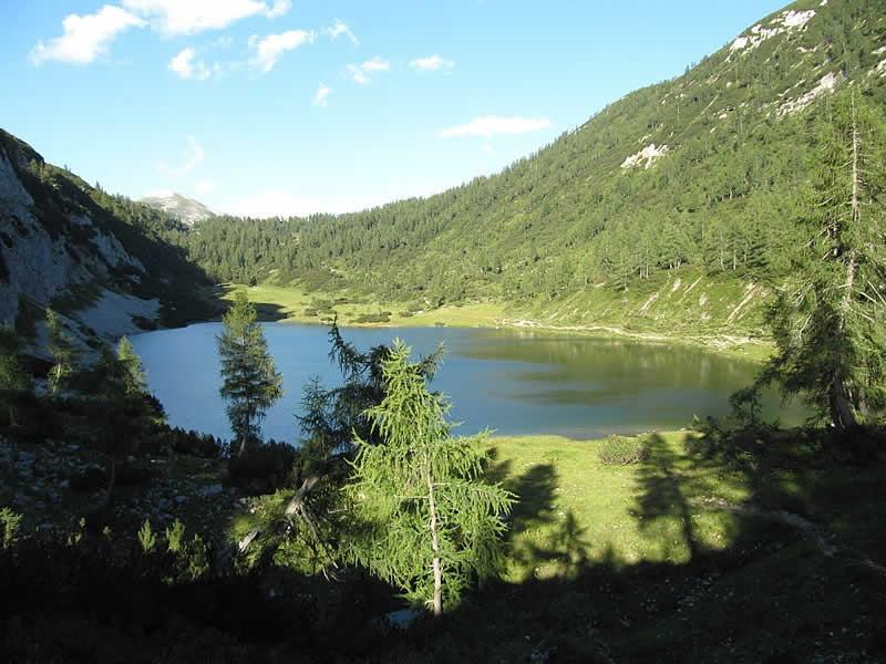 Schwarzensee auf der Tauplitz Steiermark