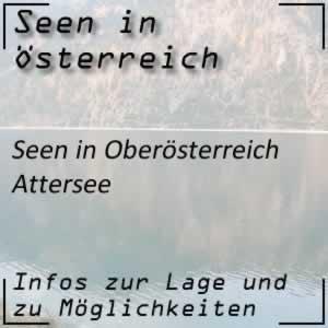 Attersee in Oberösterreich