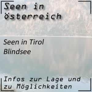 Blindsee beim Fernpass in Tirol