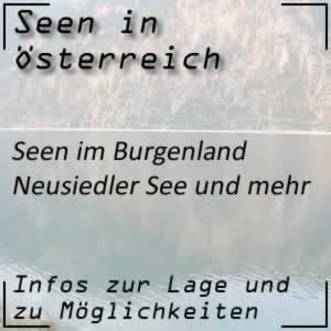 Seen im Burgenland