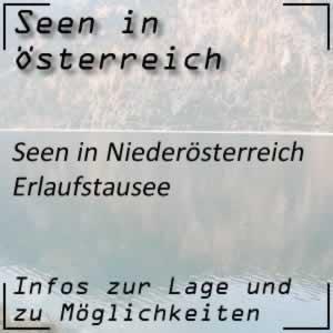 Erlaufstausee beim Ötscher Niederösterreich