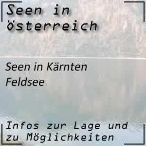 Feldsee bei Bad Kleinkirchheim Kärnten
