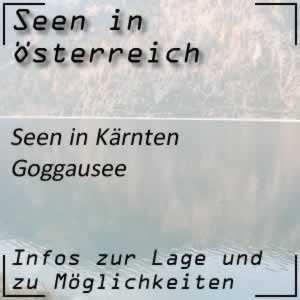 Goggausee bei den Wimitzer Bergen in Kärnten