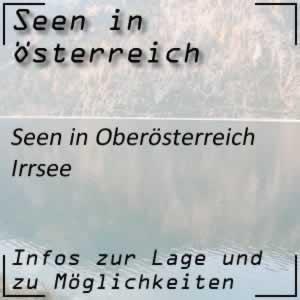 Irrsee oder Zellersee beim Mondsee Oberösterreich