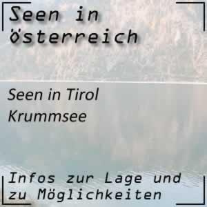 Krummsee im Tiroler Seenland
