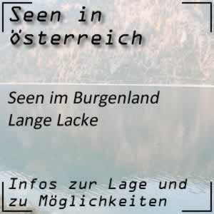 Lange Lacke Burgenland
